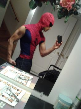My Spidey Costume by clyde0o0o