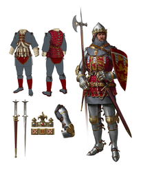 14th century duke of Lancaster by quargon