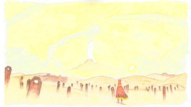 Journey watercolor 02 by Seigner