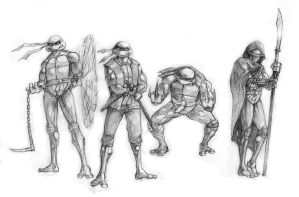 tmnt by Flick-the-Thief