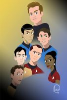 Star Trek version 1 by CreativeCatFX