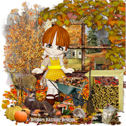 Dreamy Autumn Blank by kmjmomm