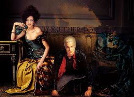 Spike and Drusilla by JuliaAngels