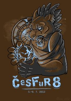 CeSFuR T-shirt design by olvice