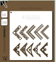 Brush Pack - Corners by iMouritsa
