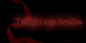 Twilight saga brushes by Giovyn86