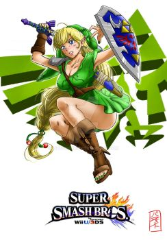 What if my hero was a girl? Link by WhysoGurin
