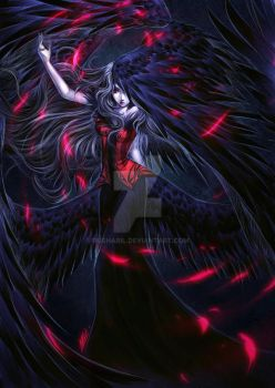 Black Angel by rusharil
