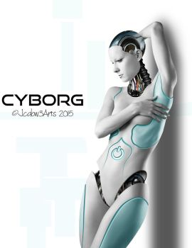 Cyborg by Jcdow3Arts