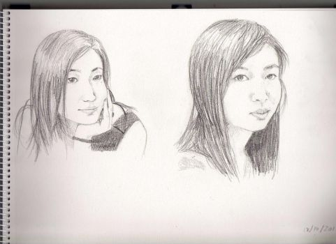 Sis and cousin by Prailin