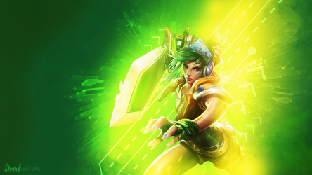 Arcade Riven Wallpaper by LeftLucy