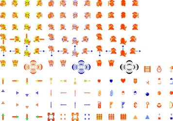 Zelda sprite sheet by ironmanof