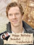 Happy Birthday Benedict Cumberbatch by clio-mokona
