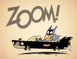 Batman Joyride! by thecheckeredman
