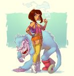 Adult Dora the Explorer by Timooon