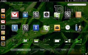 Gnome 3 in Linux Mint-8 by malvescardoso