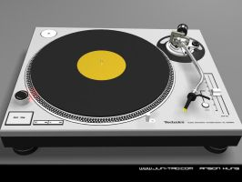 Technics 1200MK3 turntable by juntao