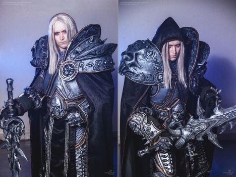 World of Warcraft - Arthas cosplay by Aoki-Lifestream