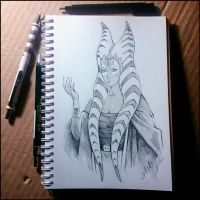 Sketchbook - Shaak Ti by Candra