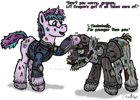FOE: Younger than you by TeaGigs