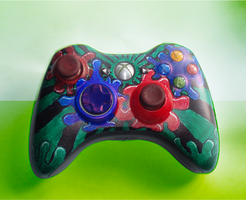 Awesome Xbox 360 Controller by Supertod