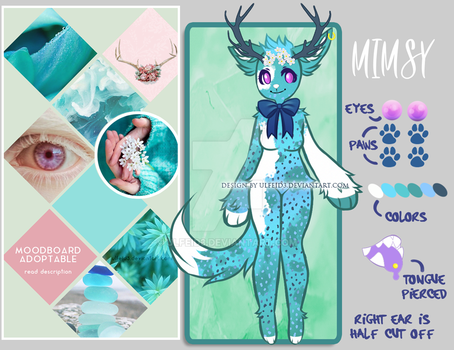 Mystery adopt - Moodboard anthro [CLOSED] 1