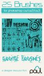 'I Luv Design' Grunge-Vector by PAULW