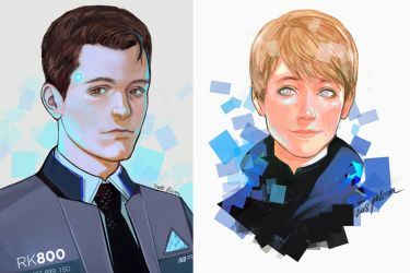 Detroit: Become Human by pelcron