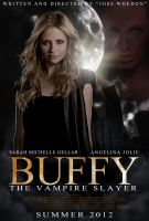 Buffy movie poster by frostdusk