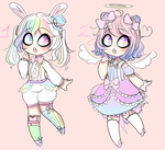 250 Points Adoptables 4 (0/2 CLOSED) by Mizore-Adopts