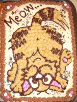 My Happy Birthday Cake, Meow by Prince-in-Disguise