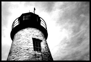 Haunted Lighthouse by SpookyDan