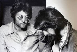 John and George by donchild