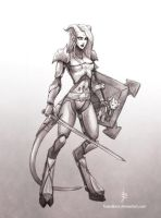 Commission: Lyssea by fadedkind