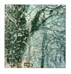One Way Woods In Snow by PolaroidVanGogh