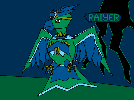 Raiyer by Brockisnothere