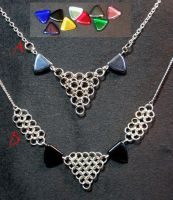 Triangle Trios by MetallicVisions