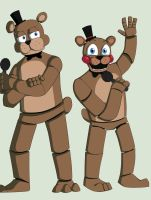 The Old and The New - Freddy by Laasuzi
