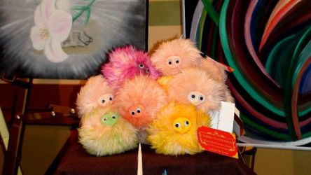 Pygmy Puffs at LeakyCon by tigerlily003