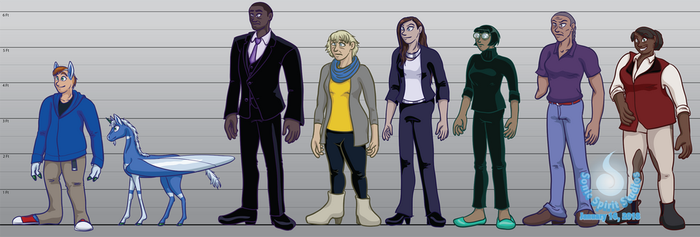 The New Normal Character Lineup by SonicSpirit128