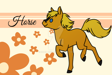 Horse by Snail-Duck