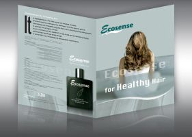 Hair Oil Product Brochure by MagedB