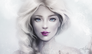 Frozen Snow Queen by SandraWinther
