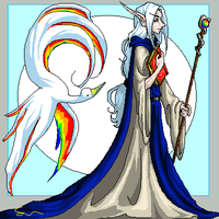 The Rainbow Wizard by bunnystick