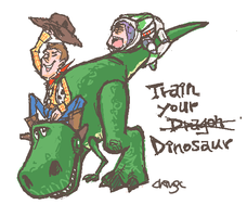 Toy Story- Train your dinosaur by chingc