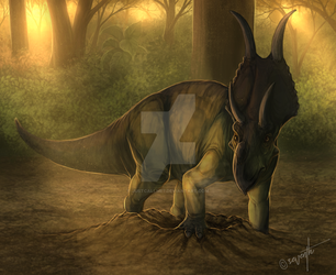 Nestin Diabloceratops by JustCallMe7