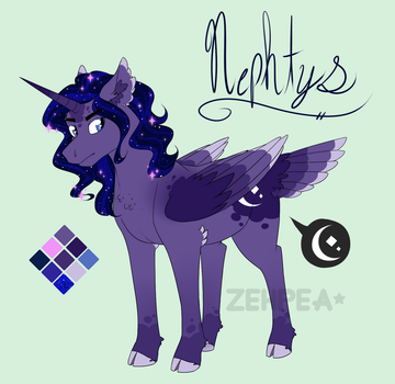 MLP NG Reference: Nephyts by PlNKKlNG