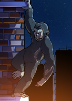 Planet of the Apes - Escape by BlackCat5643