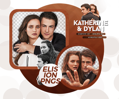 PACK PNG 133 // KATHERINE L. AND DYLAN M. by ELISION-PNGS