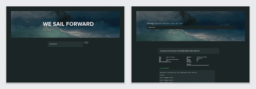 [css] waves for the pirate bay by eti1337